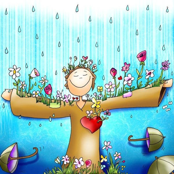 Pôst je dažďom, aby človek zakvitol