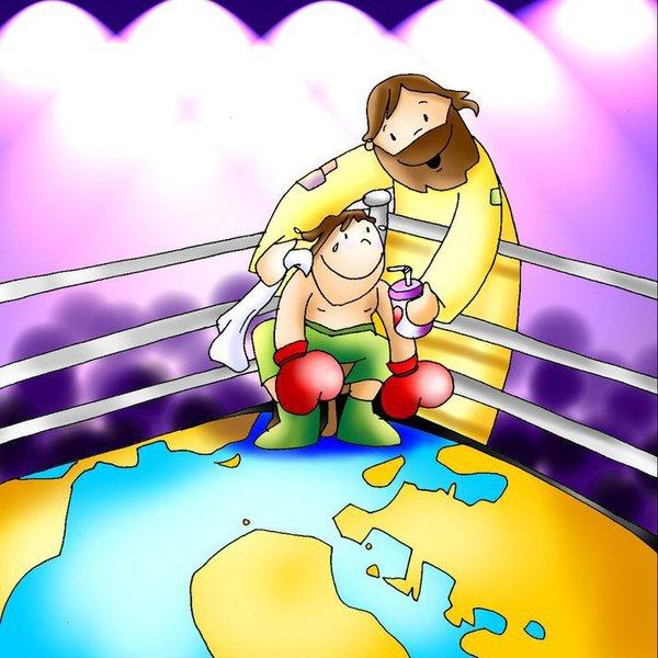 Kouč Ježiš a moja duša v ringu